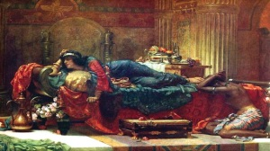 Queen Vashti Deposed by Ernest Normand